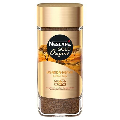 Picture of Nescafe Gold Blend Uganda-Kenya Origins Instant Coffee 100g