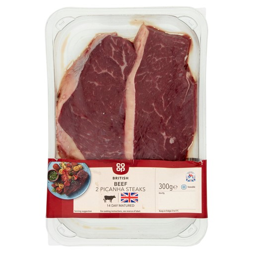 Picture of Co-op British 2 Picanha Beef Steaks 300g