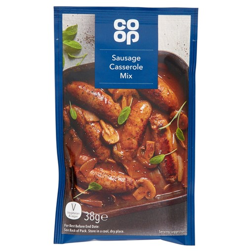 Picture of Co Op Sausage Casserole Mix 38g