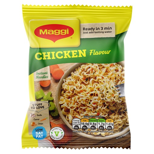 Picture of MAGGI 3 Minute Instant Noodles Chicken Flavour 59g
