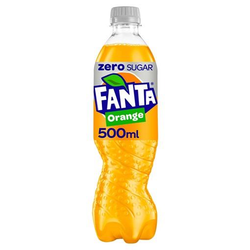 Picture of Fanta Orange Zero 500ml