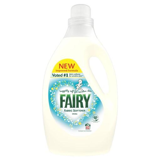 Picture of Fairy Non Bio Fabric Conditioner 2.905L 83 Washes, Voted #1 for Sensitive Skin