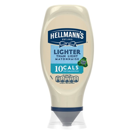 Picture of Hellmann's Lighter than Light Squeezy mayonnaise 430 ml