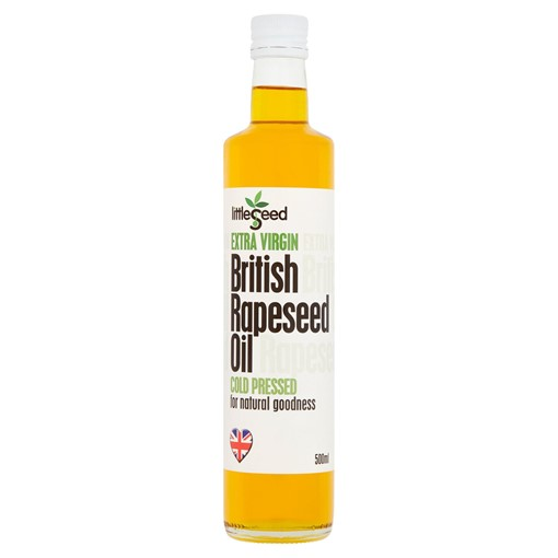 Picture of Littleseed Extra Virgin British Rapeseed Oil 500ml