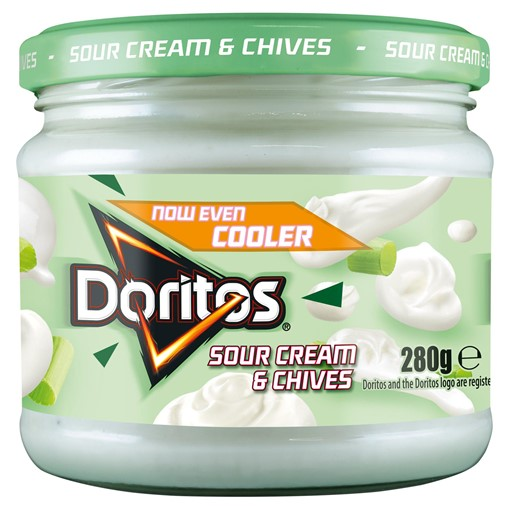 Picture of Doritos Cool Sour Cream & Chives Sharing Dip 280g