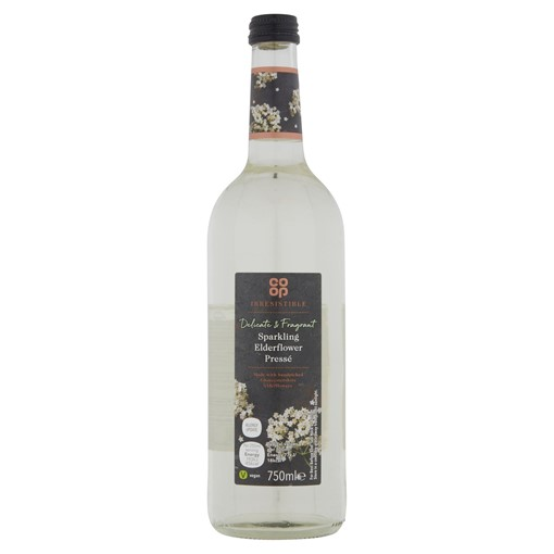 Picture of Co-op Irresistible Sparkling Elderflower Pressé 750ml