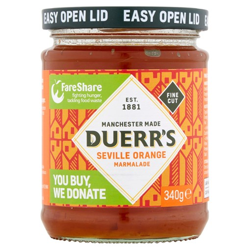 Picture of Duerr's Fine Cut Seville Orange Marmalade 340g