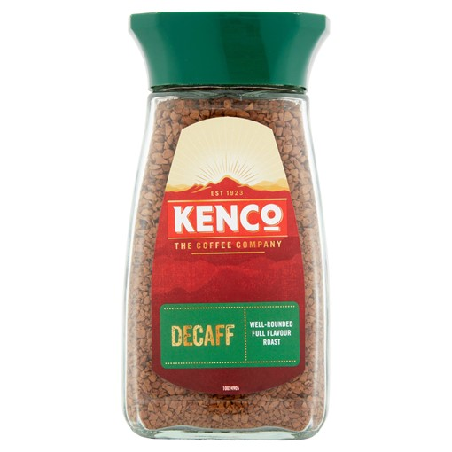 Picture of Kenco Decaff Instant Coffee 100g