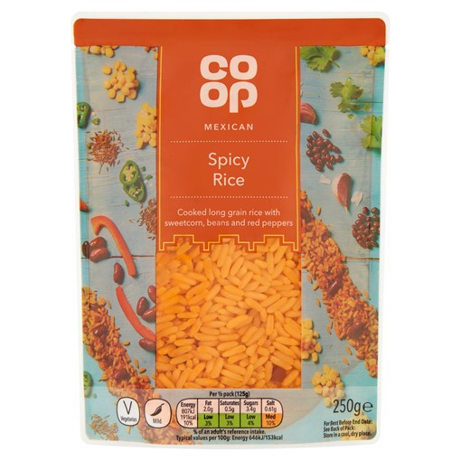 Picture of Co Op Mexican Spicy Rice 250g