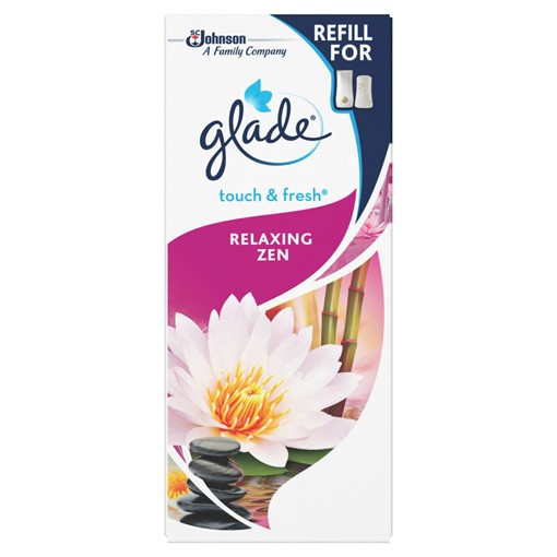 Picture of Glade Touch & Fresh Refill Relaxing Zen Air Freshener 10ml