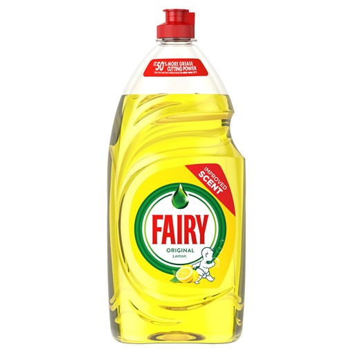 Picture of Fairy Original Washing Up Liquid Lemon with LiftAction 780ml