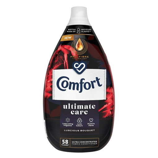 Picture of Comfort Ultimate Care Luscious Bouquet Ultra-Concentrated Fabric Conditioner 58 Wash 870 ml