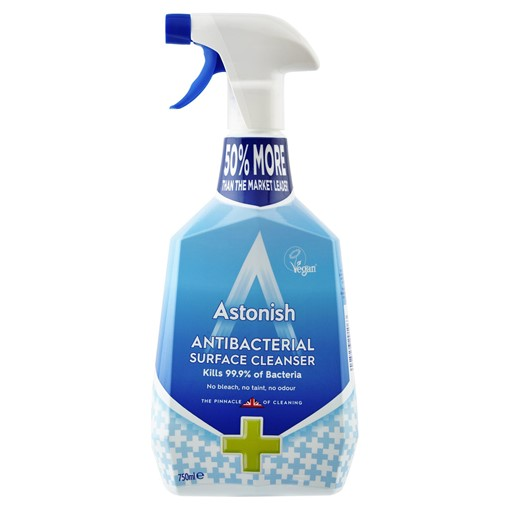 Picture of Astonish Antibacterial Surface Cleanser 750ml