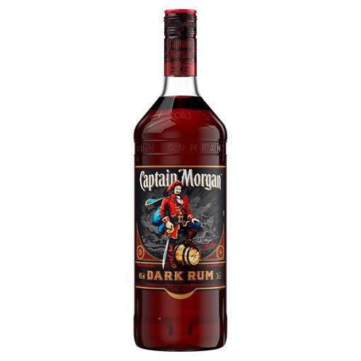 Picture of Captain Morgan Dark Rum 1L