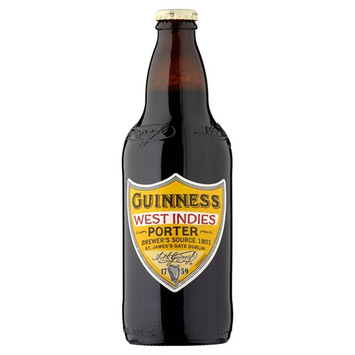 Picture of Guinness West Indies Porter Beer, 500ml