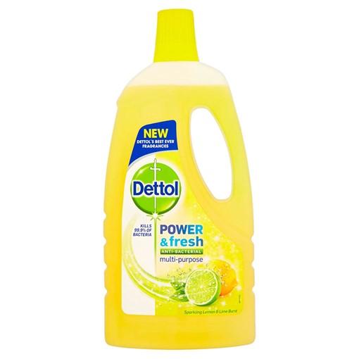 Picture of Dettol Clean & Fresh Multipurpose Sparkling Lemon & Lime Burst 1L