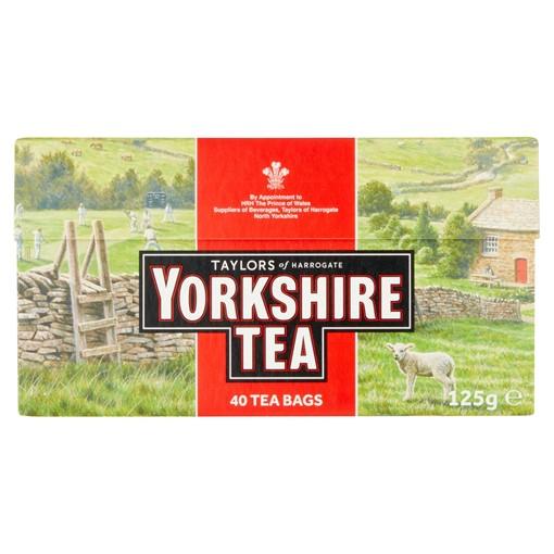 Picture of Taylors of Harrogate Yorkshire Tea 40 Tea Bags 125g