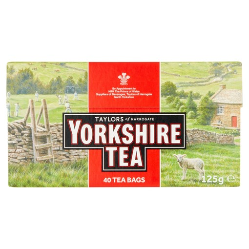 Picture of Yorkshire Tea 40 Tea Bags 125g