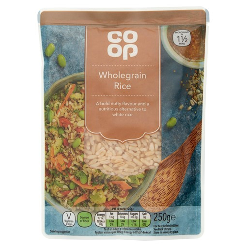 Picture of Co Op Wholegrain Rice 250g