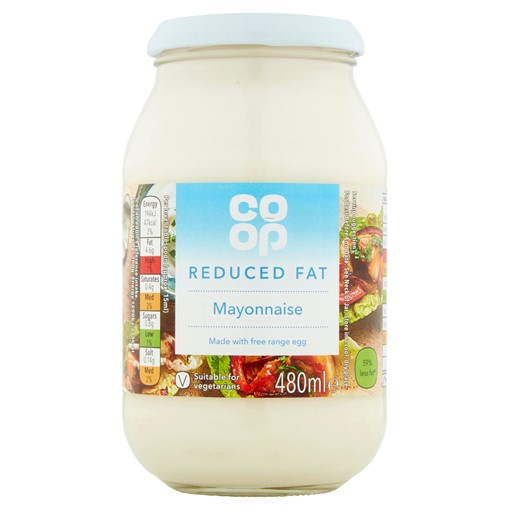 Picture of Co-op Reduced Fat Mayonnaise 480ml