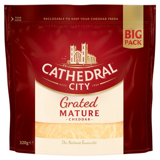 Picture of Cathedral City Grated Mature Cheese 320g
