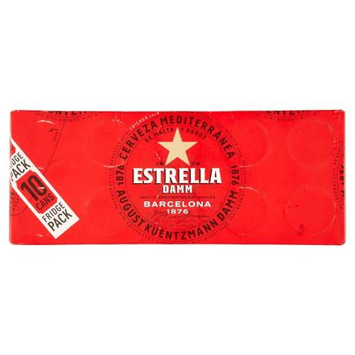 Picture of Estrella Damm Premium Lager Beer 10 x 330ml