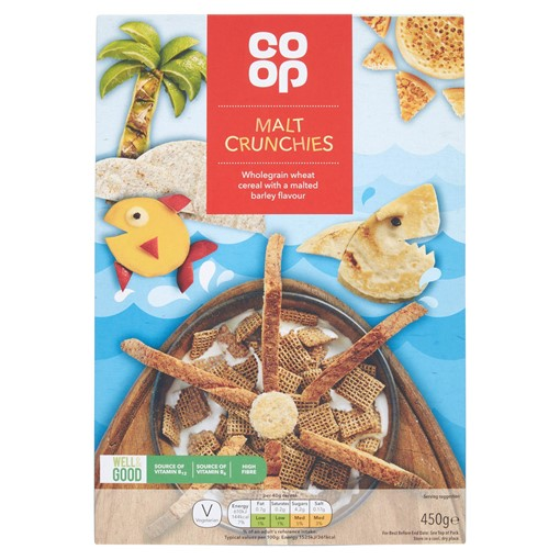 Picture of The Co-operative Loved by Us Malt Crunchies 500g