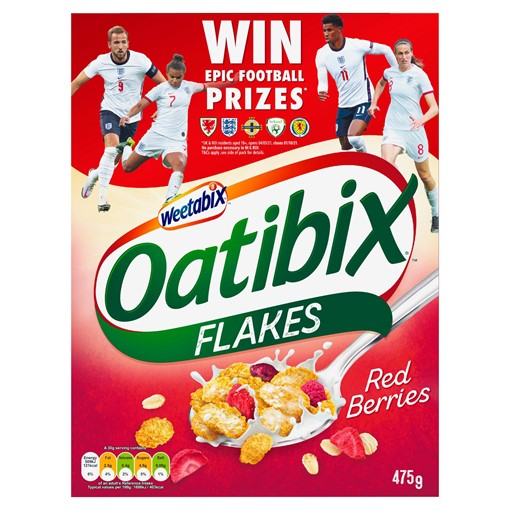 Picture of Weetabix Oatibix Flakes Red Berries Cereal 475g
