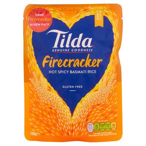 Picture of Tilda Microwave Hot Firecracker Basmati Rice 250g