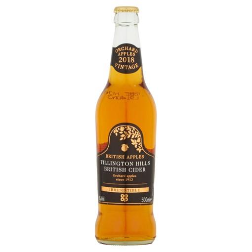 Picture of Co-op Irresistible Tillington Hills Premium British Cider 500ml