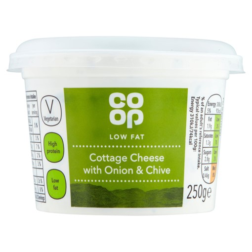 Picture of Co-op Cottage Cheese with Onion & Chive 250g