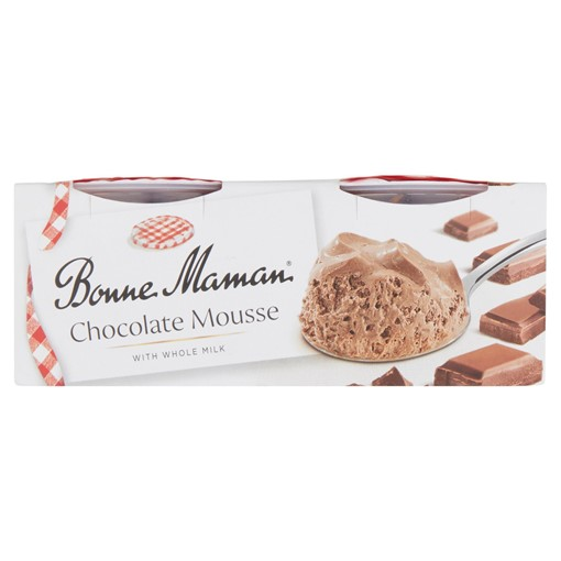 Picture of Bonne Maman Chocolate Mousse with Whole Milk 2 x 70g