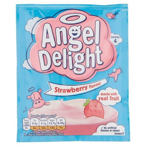 Picture of Angel Delight Strawberry Flavour Dessert 59g