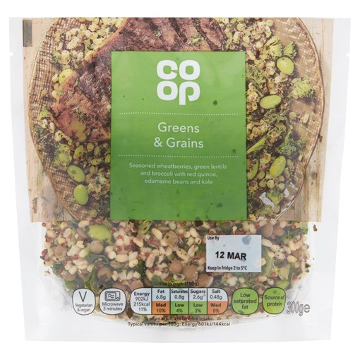 Picture of Co-op Greens & Grains 300g