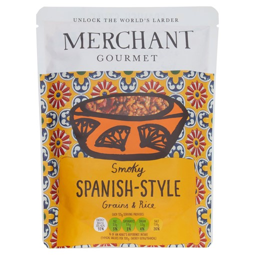 Picture of Merchant Gourmet Smoky Spanish-Style Grains & Rice 250g