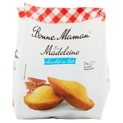 Picture of Bonne Maman Madeleine with Milk Chocolate 210g