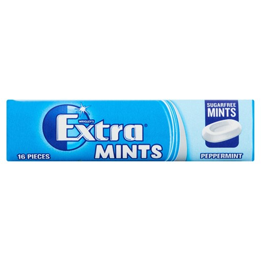 Picture of WRIGLEY'S® Extra Mints16 Sugar Free Mints Peppermint 28g