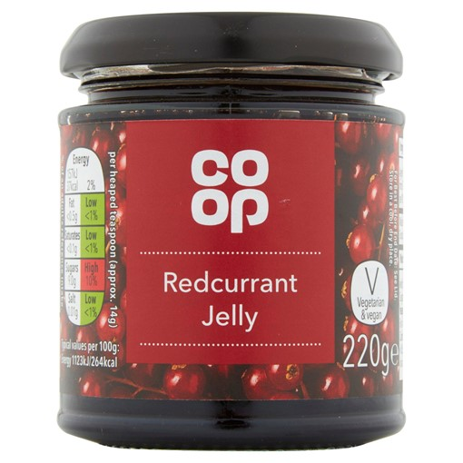 Picture of Co-op Redcurrant Jelly 220g