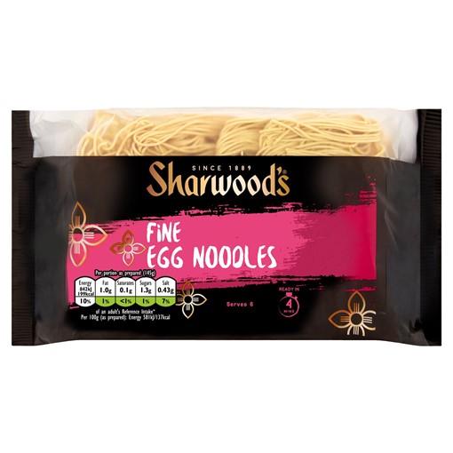 Picture of Sharwood's Fine Egg Noodles 340g
