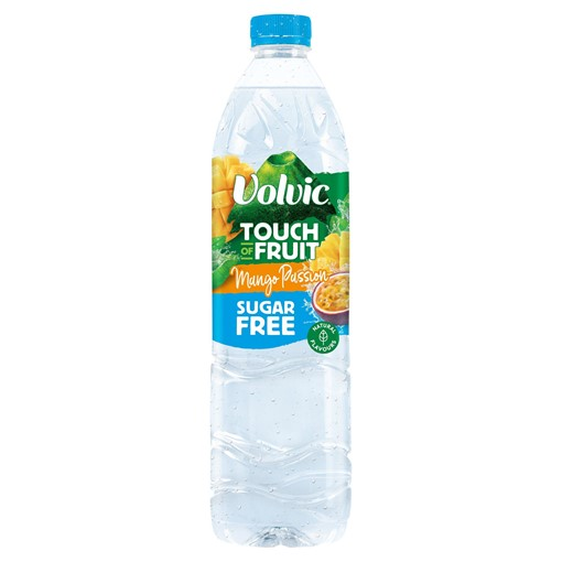 Picture of Volvic Touch of Fruit Sugar Free Mango Passion Natural Flavoured Water 1.5L