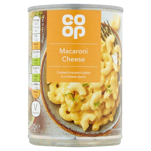 Picture of Co-op Macaroni Cheese 390g