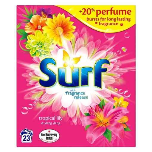 Picture of Surf Tropical Lily and Ylang-Ylang Biological Washing Powder 1.495 kg