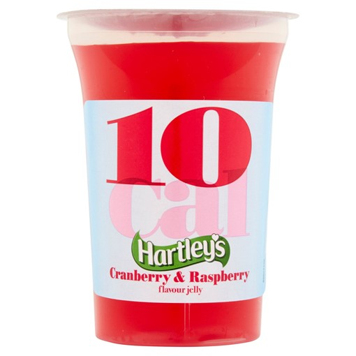 Picture of Hartley's 10 Cal Cranberry & Raspberry Flavour Jelly 175g