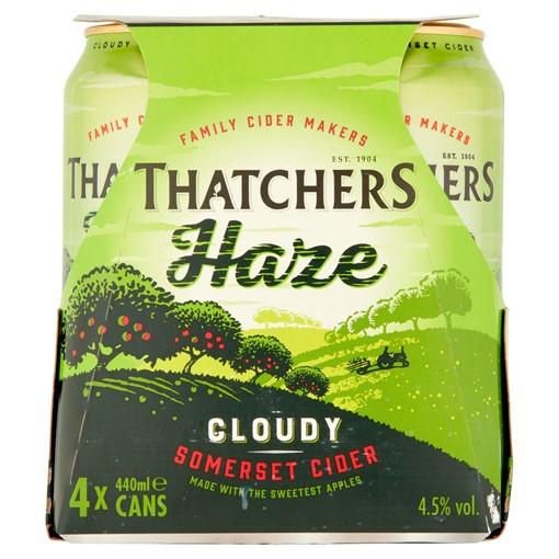 Picture of Thatchers Haze Cider 4 x 440ml
