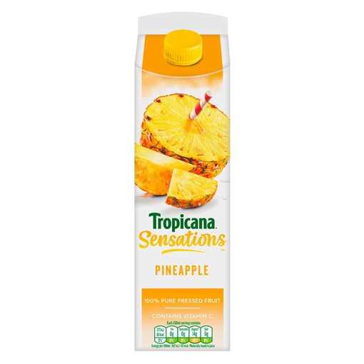 Picture of Tropicana Pineapple Juice 850ml
