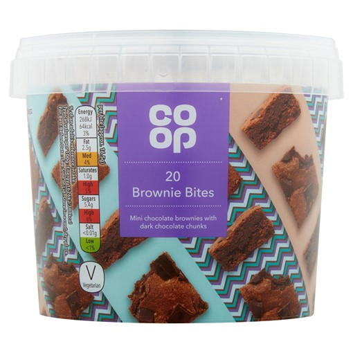 Picture of Co Op 20 Brownie Bites