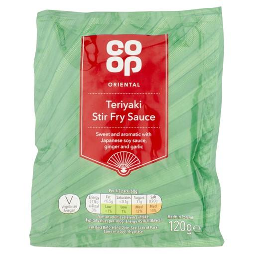 Picture of Co-op Oriental Teriyaki Stir Fry Sauce 120g