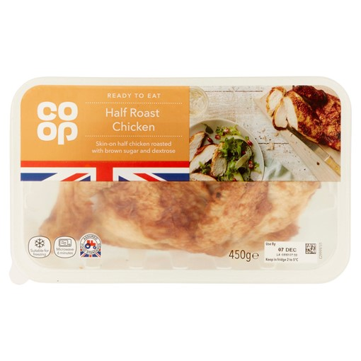Picture of Co Op Half Roast Chicken 450g
