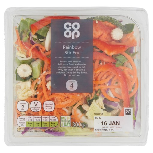 Picture of Co-op Rainbow Stir Fry 300g
