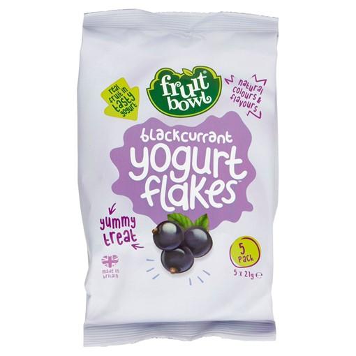 Picture of Fruit Bowl Blackcurrant Yogurt Flakes 5 x 21g